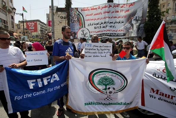 Israel membership suspension