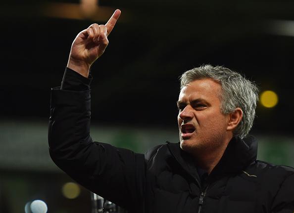 Jose Mourinho EPL Manager of the Season