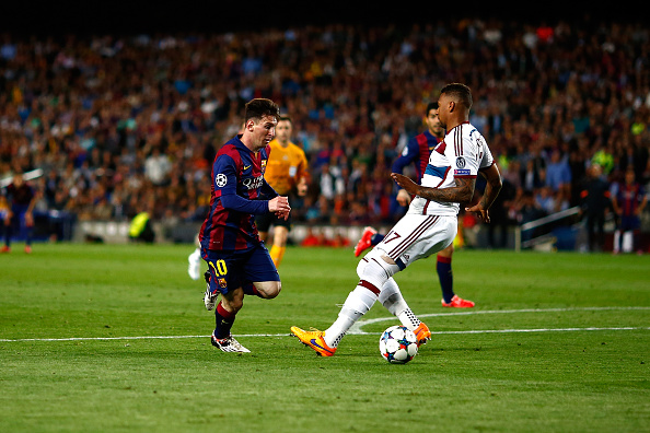 Lionel Messi Jerome Boateng