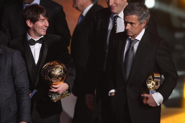 Messi Mourinho