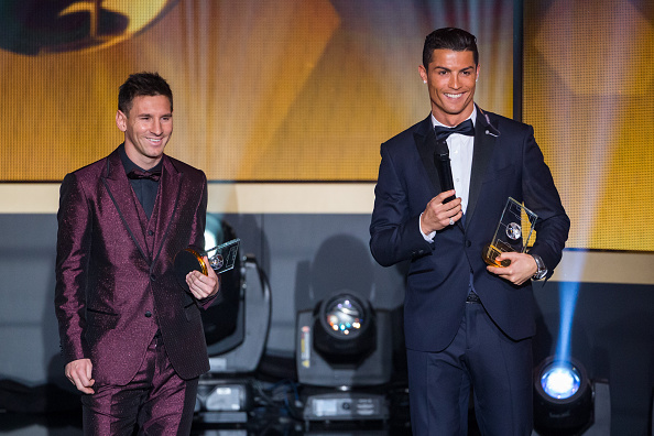 71af12797 Messi Ronaldo Lionel Messi and Cristiano Ronaldo likened to Roger Federer  and Rafael Nadal