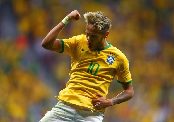 Neymar Brazil Copa America 2015