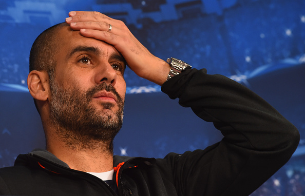 Pep Guardiola Manchester City Bayern Munich