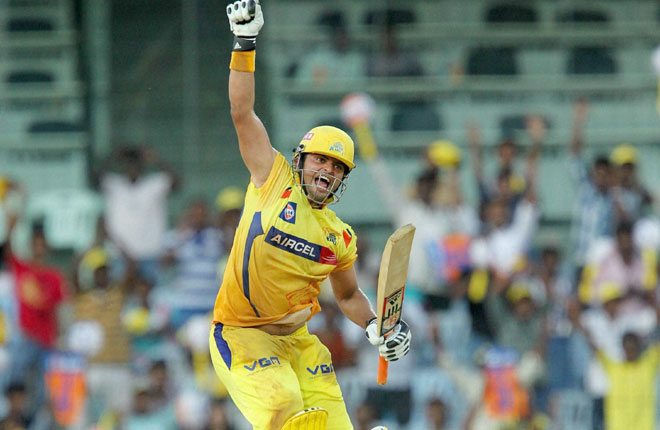 Suresh Raina of CSK is the leading run-getter in DC vs CSK matches held at Feroz Shah Kotla.