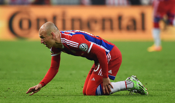 Robben injury
