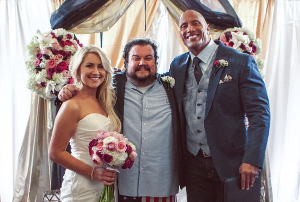 The Rock Nick Mundy marriage