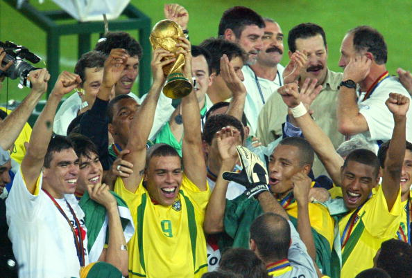Ronaldo World Cup 2002 trophy