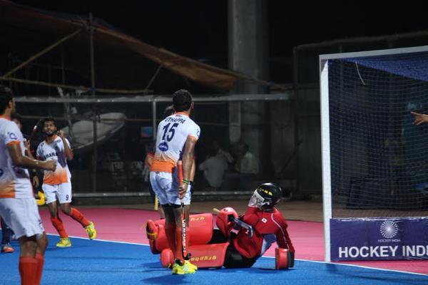 SK Uthappa India Japan hockey