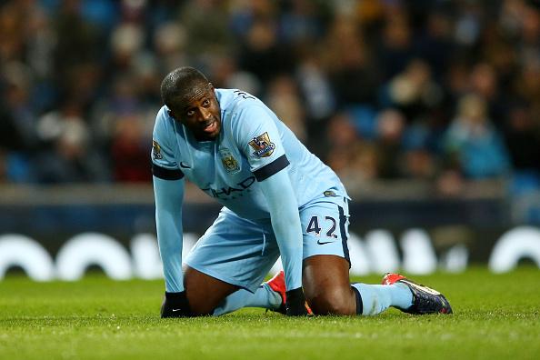 Yaya Toure leave Manchester City