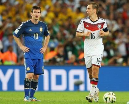 Philip Lahm Lionel Messi