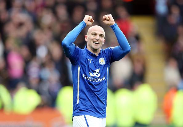 Esteban Cambiasso played a major role in dragging Leicester CIty towards safety, scoring 5 goals in the process