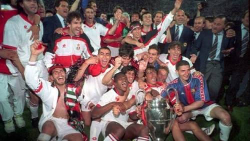 AC Milan 4-0 Barcelona 1994 Champions League final