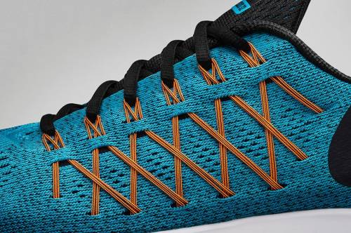Engineered Mesh Upper along with Flyknit Cables
