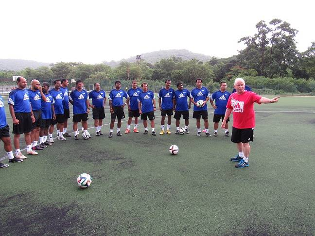 Indian Coaches at the FIFA Elite Course