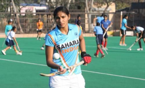 Jaspreet Kaur India hockey women team