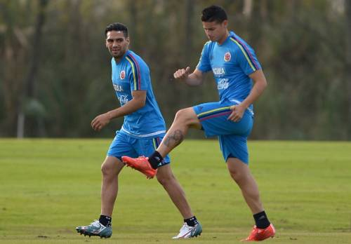 Falcao and James Rodriguez will be expected light up Chile 2015