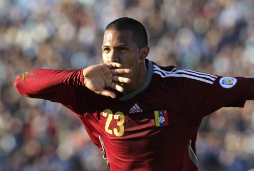 Zenit's Salomon Rondon is one to watch out for