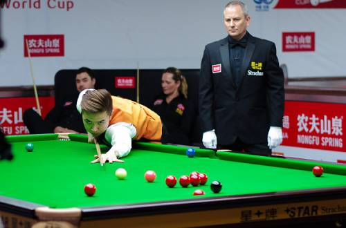 Xiao Guodong China Snooker World Cup