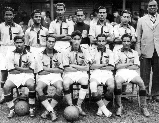 Resultado de imagen para india football 1948 barefoot
