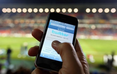 Twitter facebook technology football