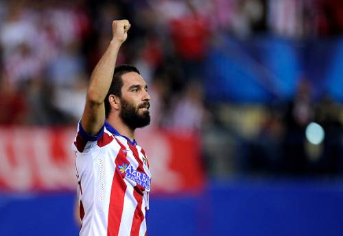 Arda Turan Arsenal Atletico Madrid Santi cazorla