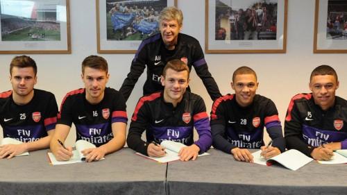 Arsenal British Core