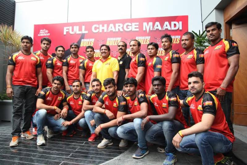 Bengaluru Bulls set to 'charge' in season 2 of Pro Kabaddi