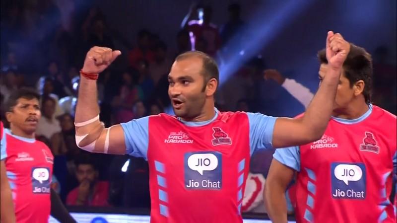 Jaipur Pink Panthers 36-23 Bengaluru Bulls; Home side get first Pro Kabaddi win