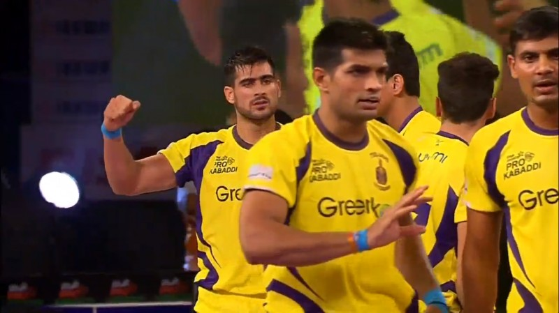 Star Sports Pro Kabaddi: Rahul Chaudhari stars in Telugu Titans' 45-24 win over Puneri Paltan
