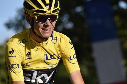 Chris Froome Tour de France 2015 winner