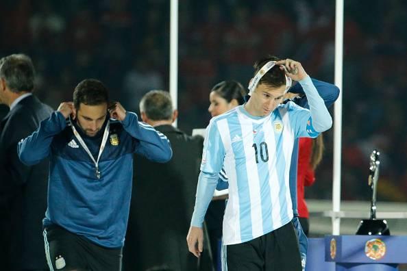 Leo Messi Medal Copa America