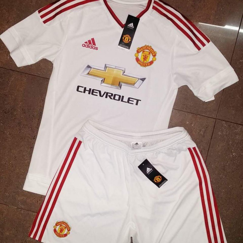 Manchester United s Adidas away strip pictures leaked 4609be4e0