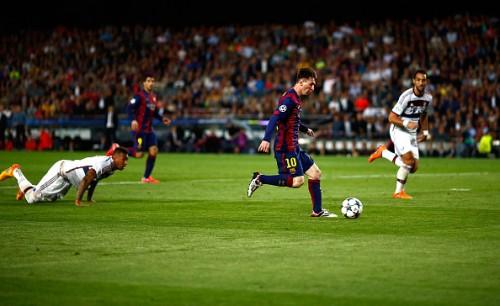 Messi Dribble Boateng