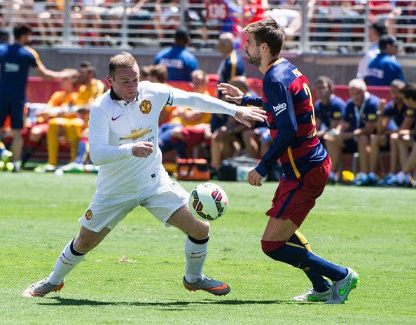 Highlights: Wayne Rooney strikes as Manchester United beat Barcelona 3-1