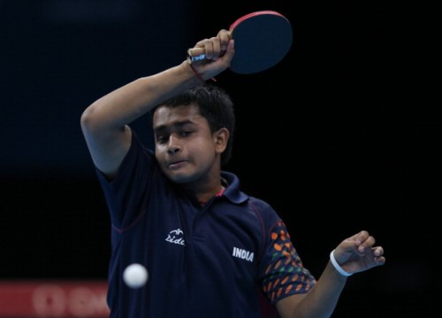 Soumyajit Ghosh India Table Tennis