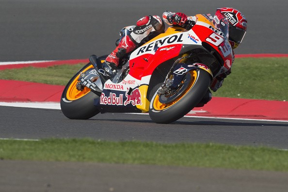 British MotoGP Qualifying: Marc Marquez on pole