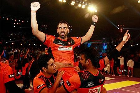 Best pictures from star sports pro kabaddi final 1 anup kumar thecheapjerseys Gallery
