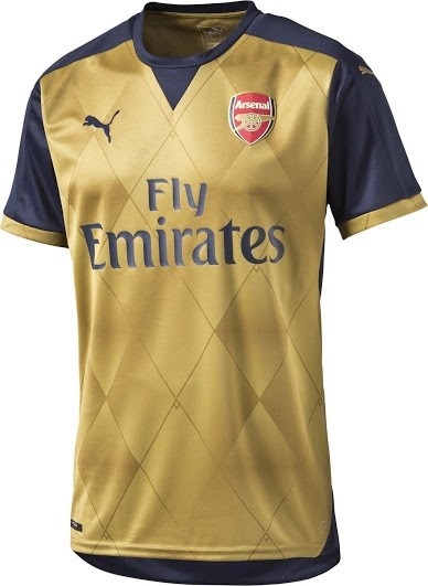 buy popular 80f10 99b74 Arsenal's 2015-16 official kit now available in India