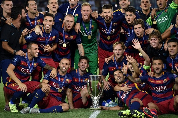 Barcelona UEFA Super Cup