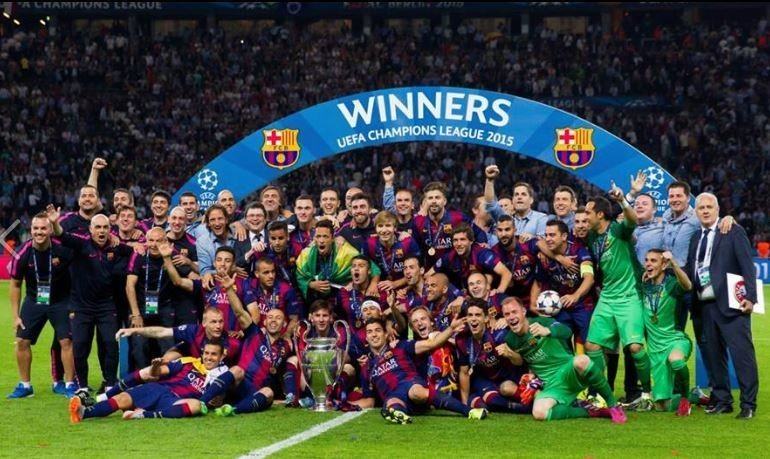 Barcelona Won Their 5th Champions League Title In 2015