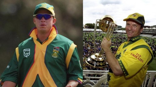 Herschelle Gibbs Steve Waugh 1999 world cup