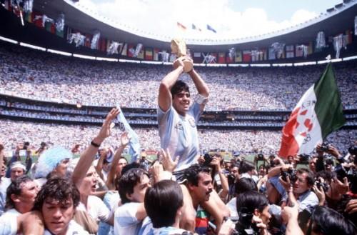 Diego Maradona Argentina 1986