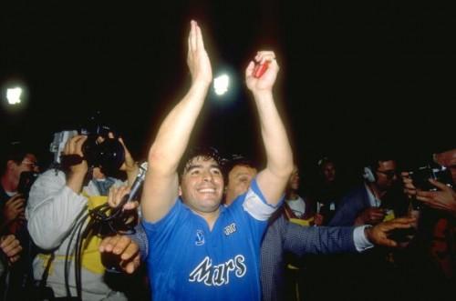 Diego Maradona Napoli UEFA Cup