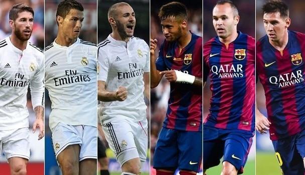 la liga fixtures football the el clasico