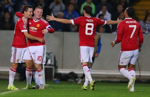 Manchester United 4-0 Club Brugge goals