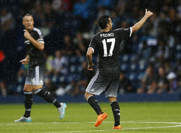 West Bromwich 2-3 Chelsea: Debutant Pedro inspires Blues to first league victory