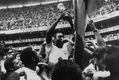Pele 1970 World Cup final