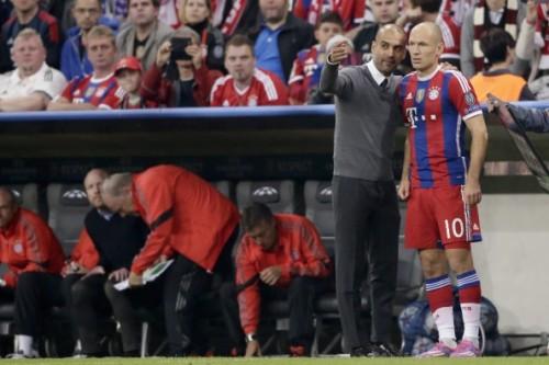 Robben Guardiola
