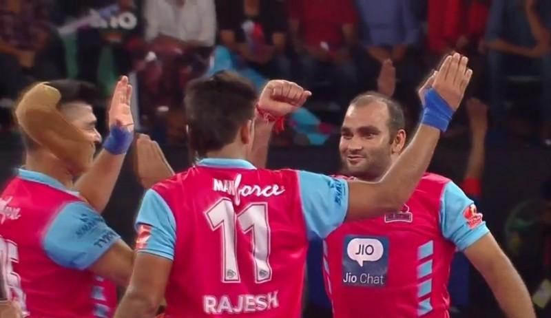 Jaipur Pink Panthers score biggest win in Pro Kabaddi season 2