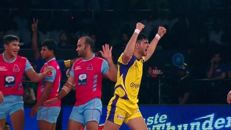 Pro Kabaddi: Telugu Titans draw against Jaipur Pink Panthers 39-39